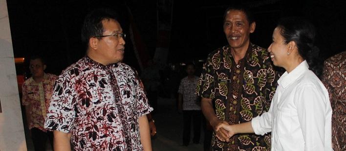 Menteri BUMN<BR>Saat Kunjungan Kerja di Pabrik Walet Sukowati Kapas